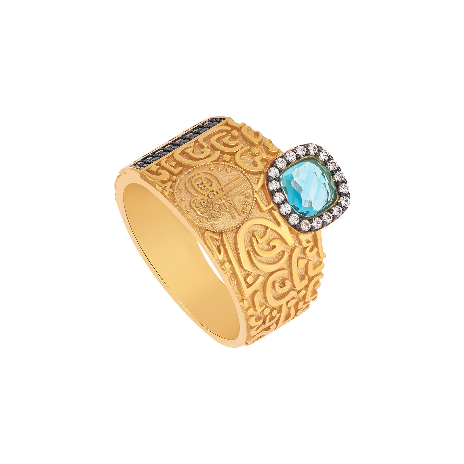 21K Traditional Gold Ring